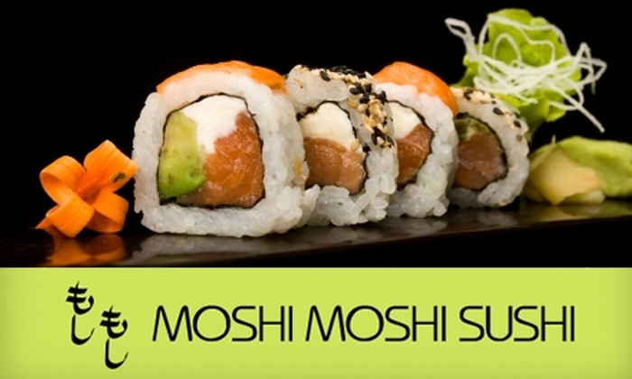 Moshi Moshi Sushi - Seattle: $17 for $35 Worth of Sushi and Drinks at Moshi Moshi Sushi