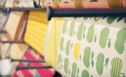 $20 Worth of Fabric or Sewing Classes - Fabric Nosherie in Webster Groves
