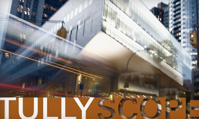 $20 for One Ticket to Tully Scope Festival at Lincoln Center
