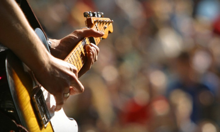 The League of Rock - Dovercourt - Wallace Emerson: Hands-On Rock-Music Performance Package at The League Of Rock (Up to 84% Off). Three Options Available.