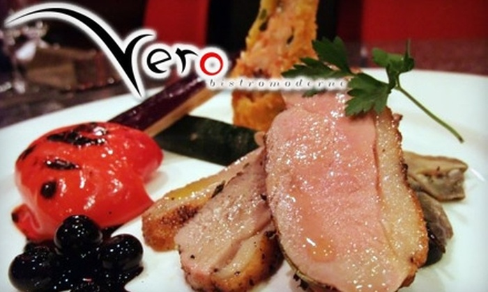 Vero Bistro Moderne - Sunnyside: $20 for $40 Worth of Contemporary Fare and Drinks at Vero Bistro Moderne