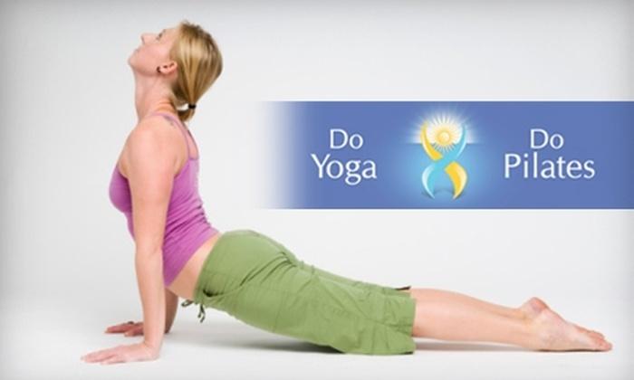 Do Yoga Do Pilates - Tribeca: $35 for a Six-Class Pack at Do Yoga Do Pilates (Up to $72 Value)