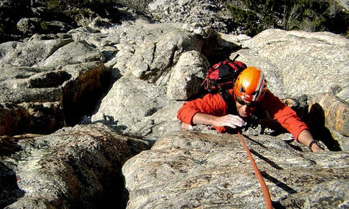 Jackson Hole Mountain Guides - North Broadway - Holiday: $140 for Half-Day Rock-Climbing Adventure for Two from Jackson Hole Mountain Guides in Boulder (Up to $285 Value)