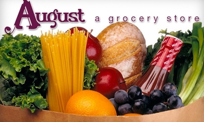 August Grocery Store - Chicago: $12 for $25 Worth of Fresh Groceries and Culinary Advice at August Groceries