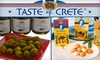 Taste of Crete - Hillsborough: $10 for $20 Worth of Specialty Greek Products In-Store or Online from Taste of Crete