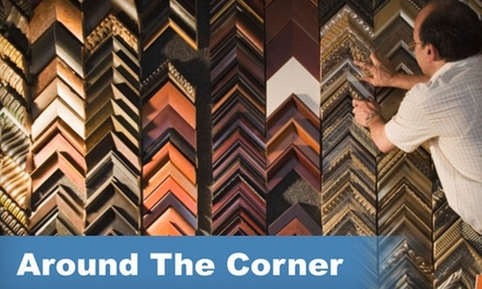 Around the Corner Framing - South End: $55 for $125 Worth of Custom Framing at Around the Corner Framing