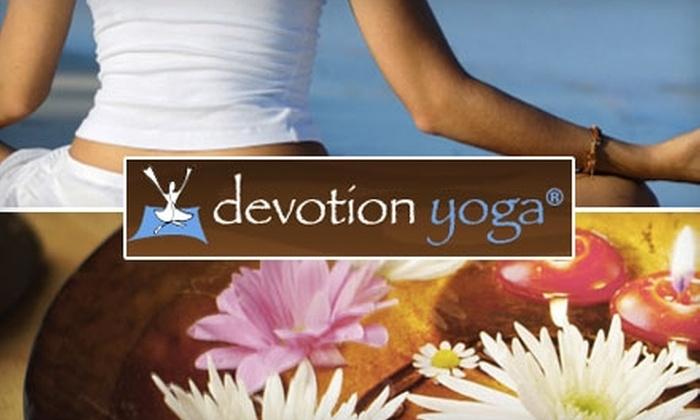 Devotion Yoga - Multiple Locations: $30 for One Month of Unlimited Classes at Devotion Yoga in Hoboken ($175 Value)