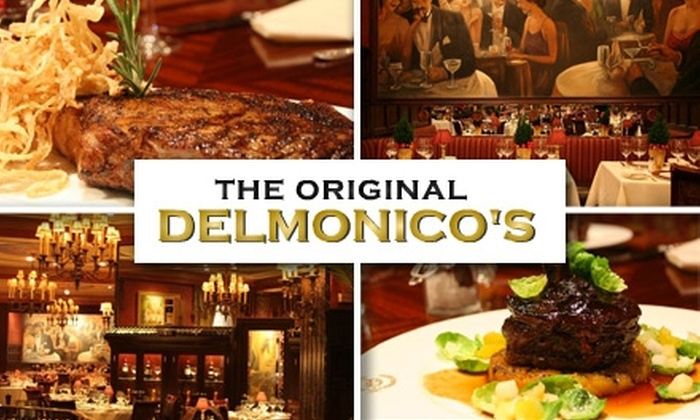 Delmonico's Restaurant - Financial District: $20 for $40 Worth of Fine Dining at Delmonico's Restaurant