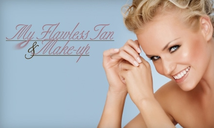 My Flawless Tan - Moss Bay: $20 for One Organic Spray Tan at My Flawless Tan in Kirkland ($40 Value)