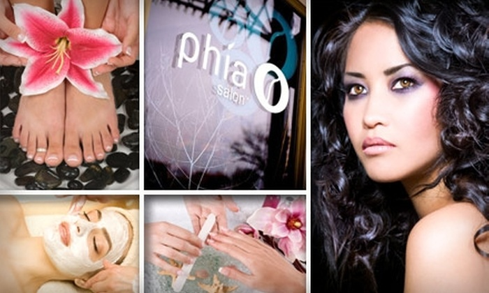 Phia Salon - Short North: $29 for $65 Worth of Treatments and Services at Phia Salon