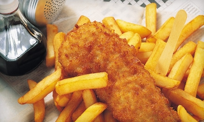 Ye Olde English Chippie - Remmington Park: $5 for $10 Worth of Traditional English Fare at Ye Olde English Chippie