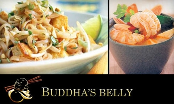 Buddha's Belly - Jacksonville Beach: $12 for $25 Worth of Thai Cuisine and Drinks at Buddha's Belly