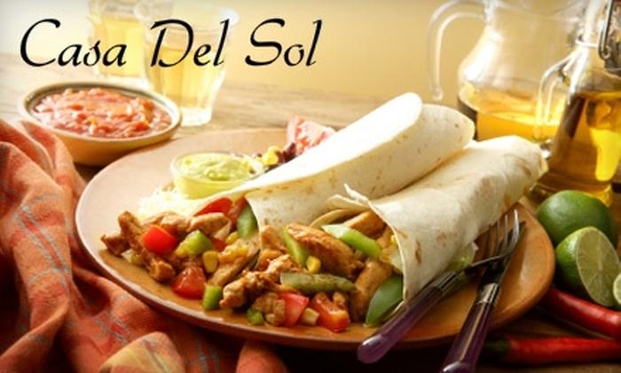 Casa del Sol  - Madison: $10 for $20 Worth of Traditional and Innovative Mexican Fare at Casa del Sol