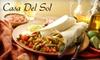 Casa del Sol  - Fitchburg: $10 for $20 Worth of Traditional and Innovative Mexican Fare at Casa del Sol