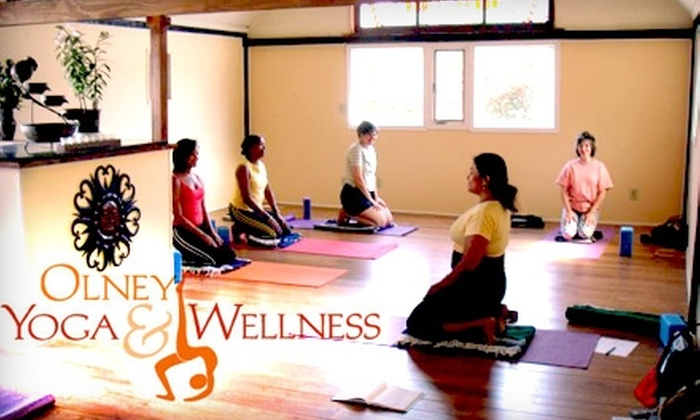 Olney Yoga & Wellness - Olney: $40 for a Five-Class Pass at Olney Yoga & Wellness ($80 Value)