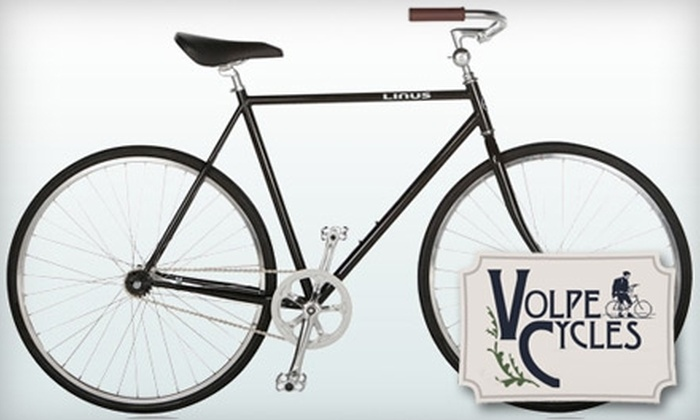 Volpe Cycles - Center City West: $25 for $50 Worth of Merchandise and Services at Volpe Cycles