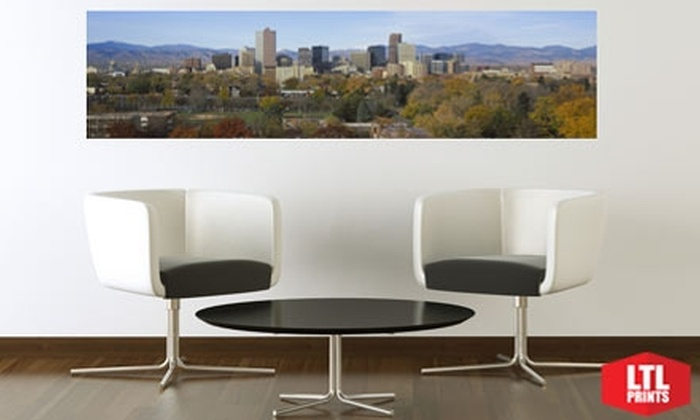 Larger Than Life Prints - Denver: $35 for a Panoramic Wall Mural from Larger Than Life Prints