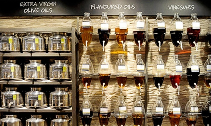 Oil & Vinegar - Southgate: $12 for $25 Worth of Oils, Vinegars, and Gifts at Oil & Vinegar in Happy Valley
