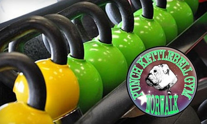 Punch Kettlebell Gym of Norwalk - Norwalk: $50 for 10 Kettlebell Sessions or a Four-Week Boot Camp at Punch Kettlebell Gym of Norwalk (Up to $200 Value)