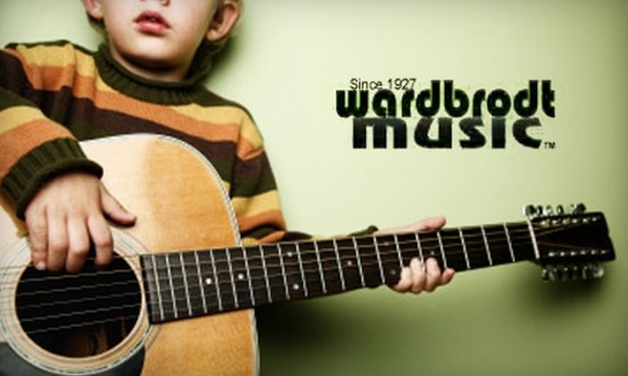 Ward-Brodt Music - Madison: $40 for Four Half-Hour Private Music Lessons at Ward-Brodt Music ($80 Value)
