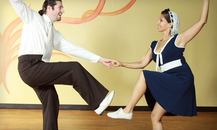Room to Dance - Downtown,Eastside: $34 for Eight Dance Classes at Room to Dance in Riverside ($70 Value)