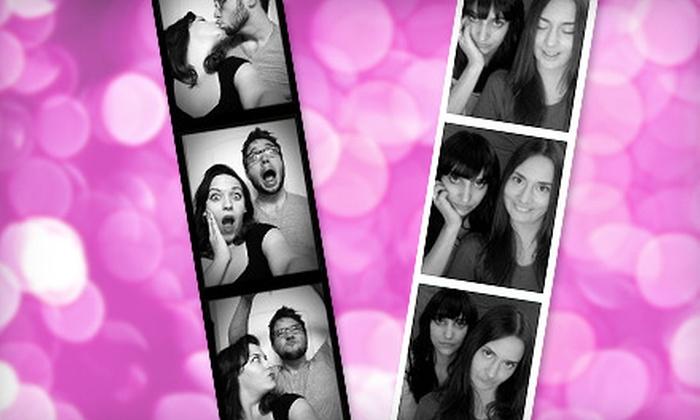 Laugh Out Loud Photobooth - Downtown Chapel Hill: Three- or Five-Hour Photobooth Rental from Laugh Out Loud Photobooth (Up to 65% Off)