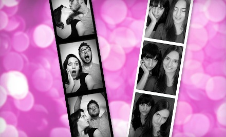 3-Hour Photobooth-Rental Package (a $950 value) - Laugh Out Loud Photobooth in