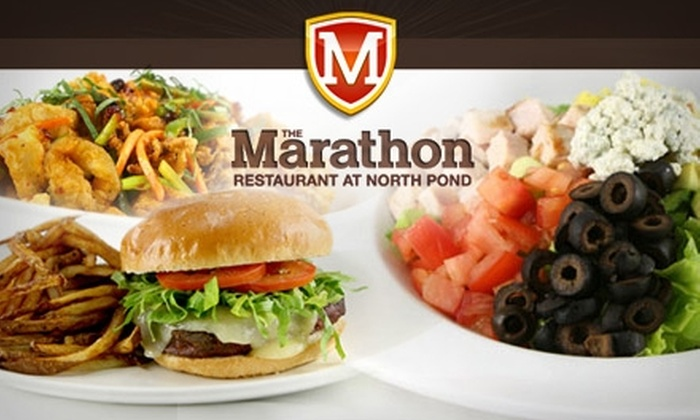The Marathon Restaurant at North Pond - Hopkinton: $20 for $40 Worth of American Bistro Cuisine at The Marathon Restaurant at North Pond
