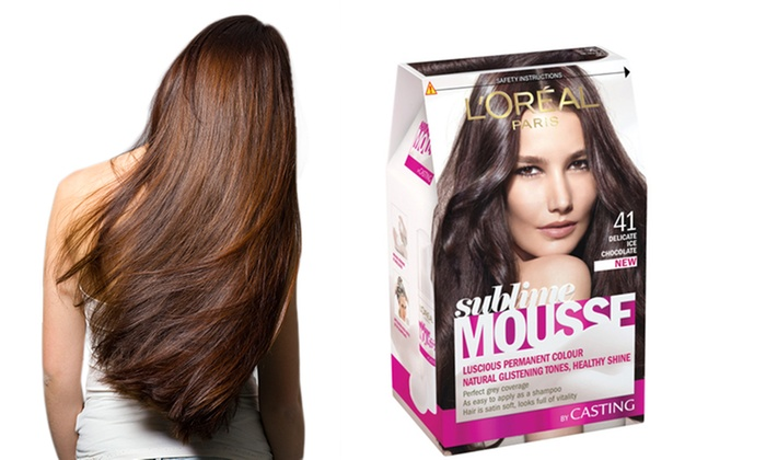 Groupon Goods 17 For A Three Pack Of L Oreal Sublime Mousse Permanent