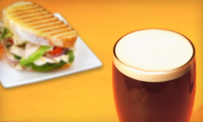 Jackson's Garage Bar - San Sebastian: $12 for a Pub Meal with Sandwiches and Draft Beers for Two at Jackson's Garage Bar in St. Augustine (Up to $27 Value)