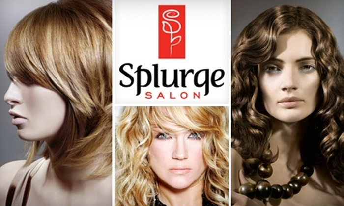 Splurge Salon - Fort Worth: $50 for $100 Worth of Designer Stylings and More at Splurge Salon in Highland Village