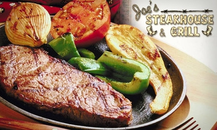 Joe's Steakhouse & Grill - Fulton Mall: $15 for $30 Worth of Grilled Fare and Drinks at Joe's Steakhouse & Grill