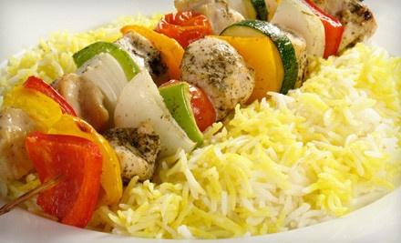 Dinner for Two - La Feast Restaurant in Birmingham