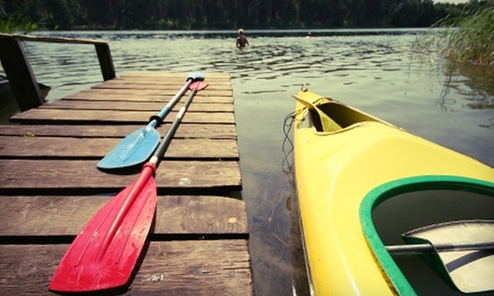 MOC Kayaks - Rocky Ridge: $20 for Three-Hour Kayak Rental at Paradise Cove on Lake Travis from MOC Kayaks (Up to $75 Value)