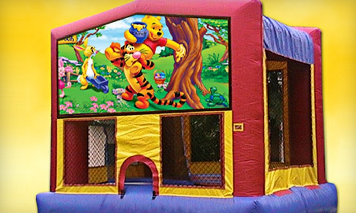 Cool Cat Sites Entertainment - Central College: $89 for a Three-Hour Themed Bounce-House Rental from Cool Cat Sites Entertainment ($220 Value)
