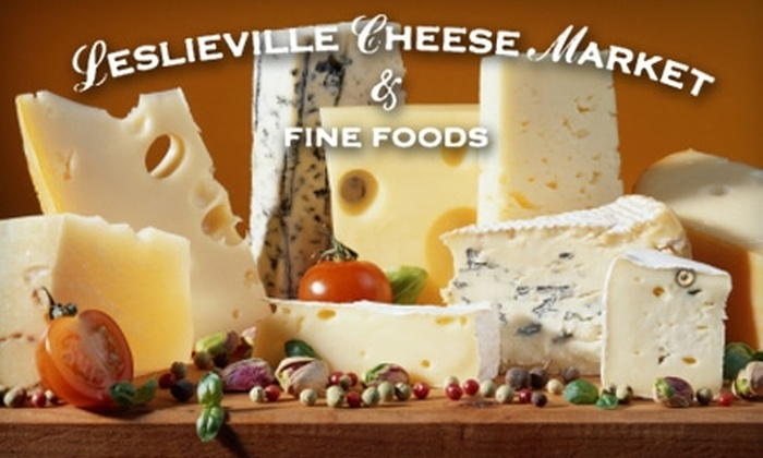 Leslieville Cheese Market - Downtown Toronto: $30 for Beer and Cheese Tasting for Two at the Leslieville Cheese Market ($60 Value)