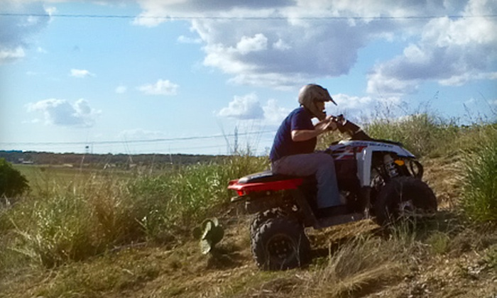 Roll Rage - New Braunfels: $17 for ATV Adventure from Roll Rage in New Braunfels ($34 Value)