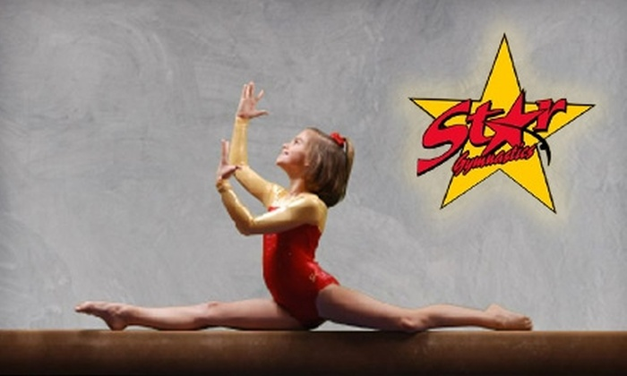 Star Gymnastics - Oklahoma City: $20 for One Month of Children's Gymnastics Classes at Star Gymnastics in Edmond ($65 Value)