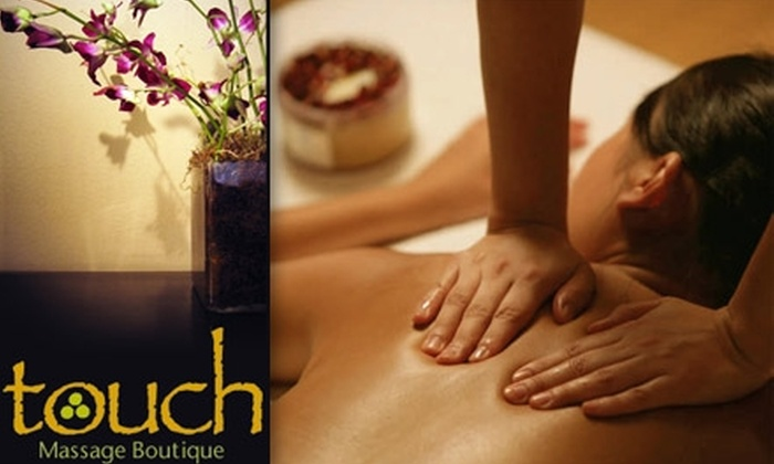 Touch Massage Boutique - Beverly Hills: $30 for a One-Hour Massage at Touch Massage Boutique (Up to $57 Value)