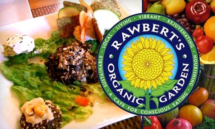 Rawbert's Organic Garden - Beverly: $25 for $50 Worth of Vegan Raw Cuisine at Rawbert's Organic Garden Café