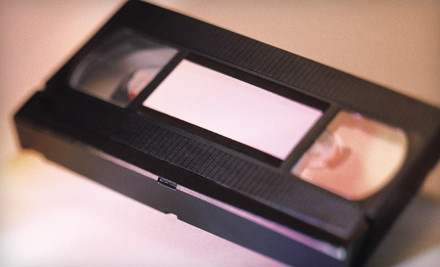 One 120-Minute Tape Transferred to DVD (a $25 value) - MediaGo2 in Toronto