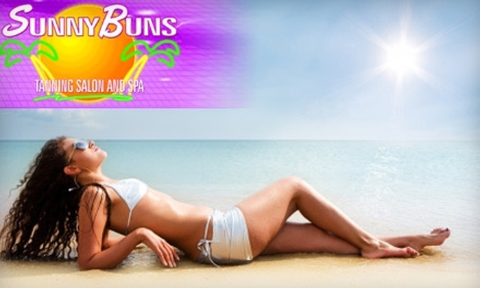 Sunny Buns Tanning Salon and Spa - Lincoln Heights: $25 for Two VersaSpa Spray-Tan Sessions ($70 Value) or $25 for One Month of Unlimited Tanning ($49.95 Value) at Sunny Buns