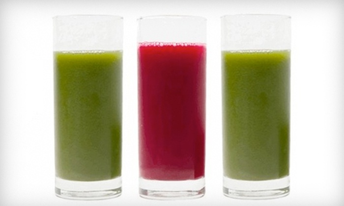 LīV Juice - Woodside: Juice-Til-Dinner Cleanse, One-Day Detoxifying Cleanse, or Five-Day Cleanse at LīV Juice
