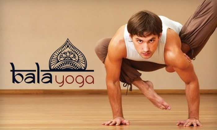 Bala Yoga - Seattle: $30 for a Five-Class Pass for Yoga Classes at Bala Yoga ($80 Value)