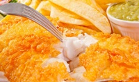 Two-Course Fish and Chips Meal with a Hot Drink for Two to Four at Harpers Bistro A19 (Up to 54% Off)