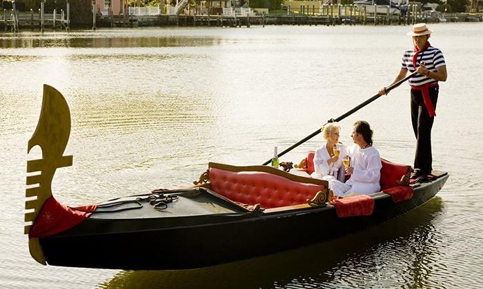 Sarasota Gondola - River Forest: 30-Minute Couples Gondola Tour or Tour for Up to Eight People from Sarasota Gondola (Up to 61% Off)