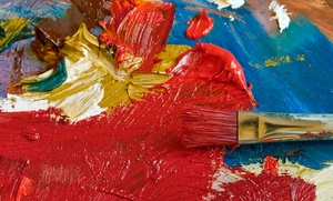 A Space To Create: 60-Minute BYOB Group Painting Workshop from A Space to Create (50% Off)