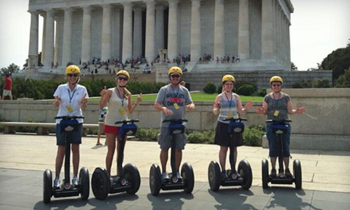 Bike and Roll - Federal Triangle: $29 for a 2.5-Hour Guided Segway Tour from Bike and Roll ($59 Value)