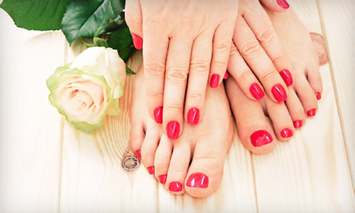 Alante Hair Designs and Boutique - Colleen Walsh - Point Loma Heights: $23 for a Spa Mani-Pedi from Colleen at Salon 2141 ($55 Value)