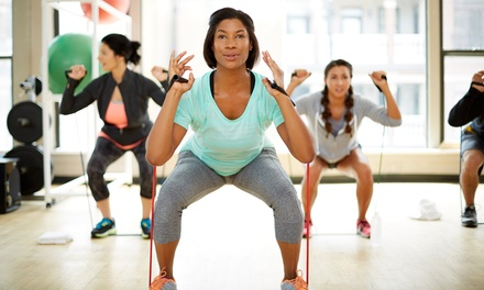 One Month of Unlimited Boot Camp Classes, or 10 or 15 Boot Camp Classes at Kick@55 Fitness (Up to 77% Off)